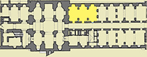 MAP IMAGE OF ROOMS 13 & 14 LIVING IN AUGUSTA TAURINORUM
